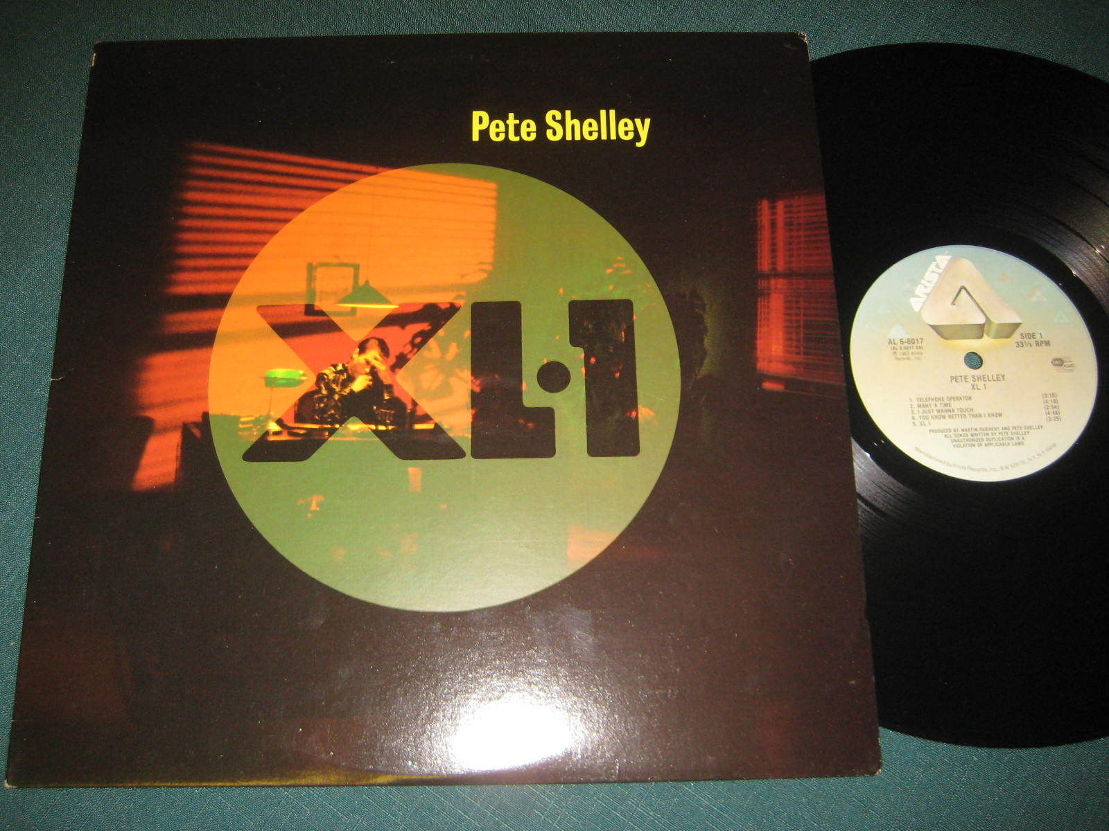 Pete Shelley - 'XL-1'