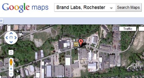 Brand Labs on the map...